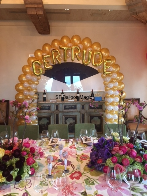 Balloon arches by Balloon Magic