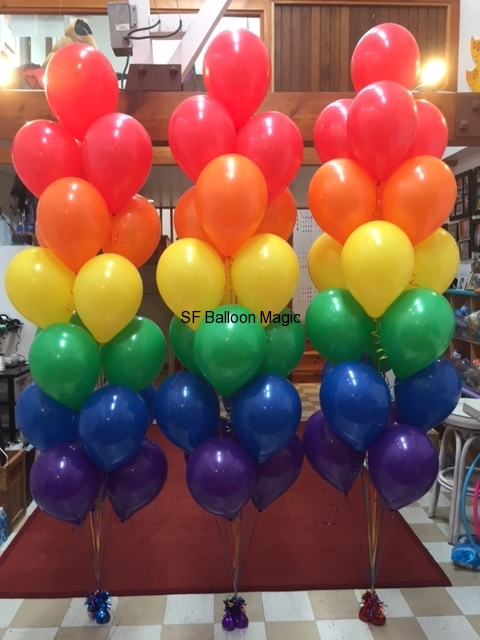 Balloon arches bouquets and columns san francisco s balloon magic